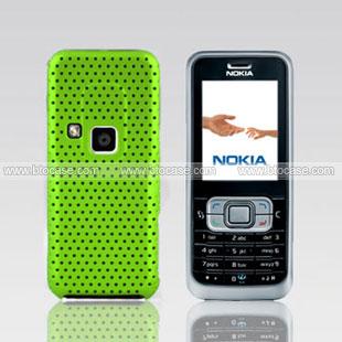 release date: 3e99e d12f7 Nokia 6120 Mesh Hole Case Back Cover - Green
